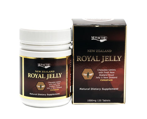 Royal Jelly 120 chewable Tablets