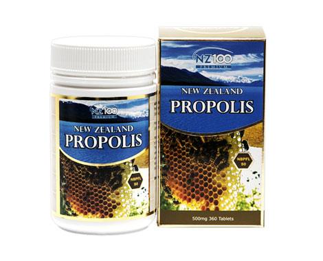 Propolis chewable tablets