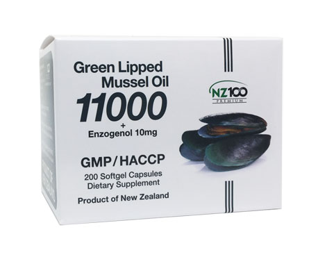 Green Lipped Mussel Oil 11000 + Enzogenol 10mg