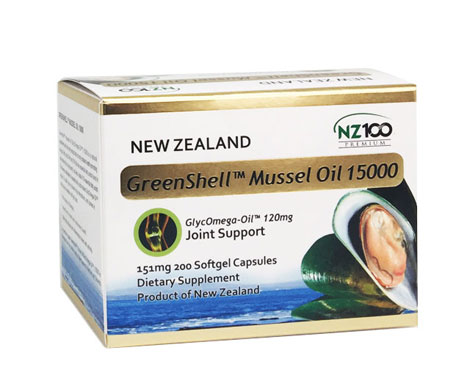 GreenshellTM Mussel Oil 15000