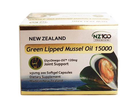 Green Lipped Mussel Oil 15000